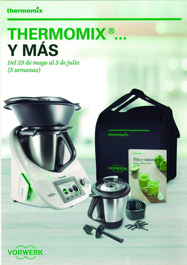 Oferta Thermomix® 29/05 a 03/07 a 0% interés MAS info Clara García 65o 918 777
